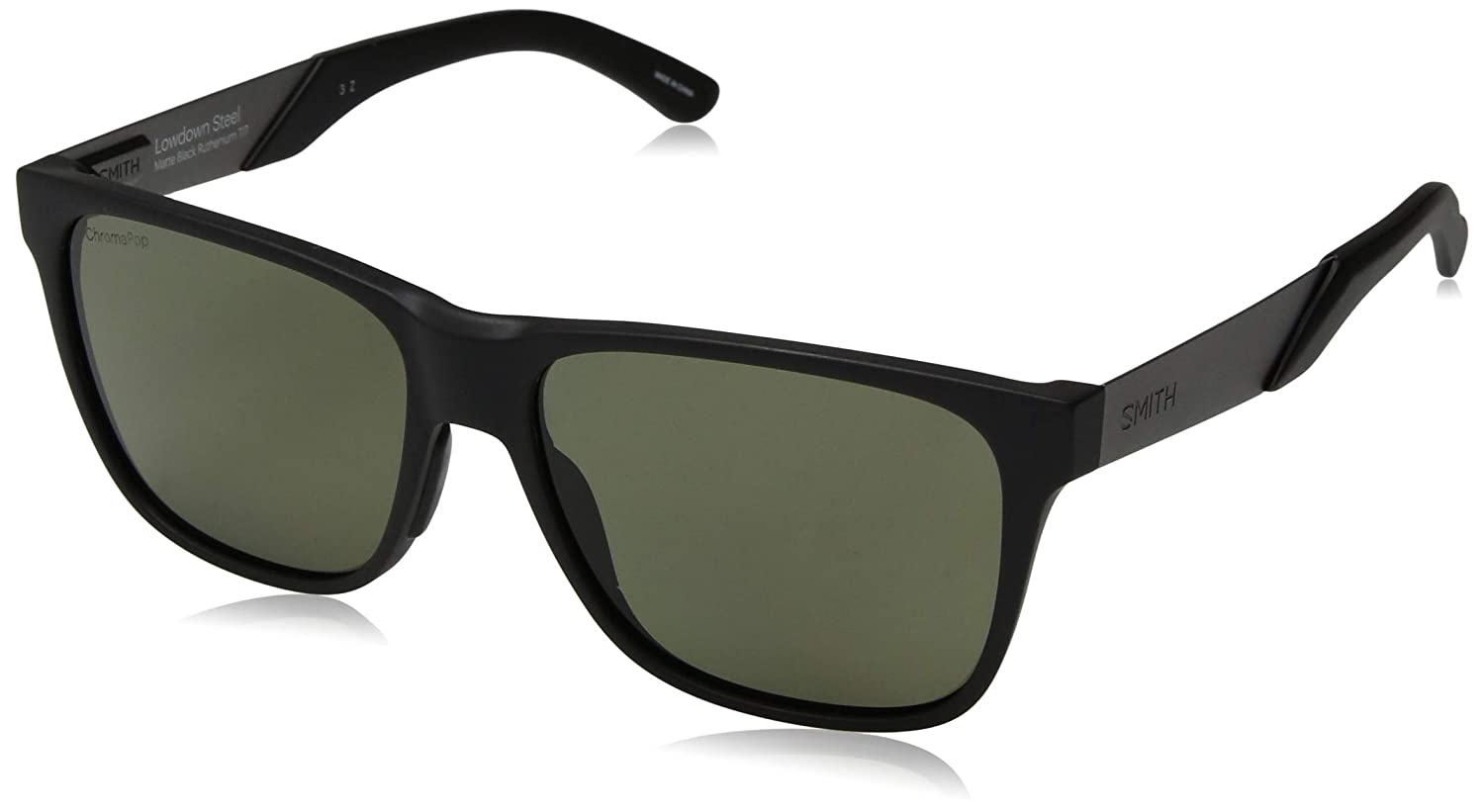 56 Occhiali da Sole Uomo Lowdown Steel スミスオプティクス SMITH OPTICS Rut Mtblk