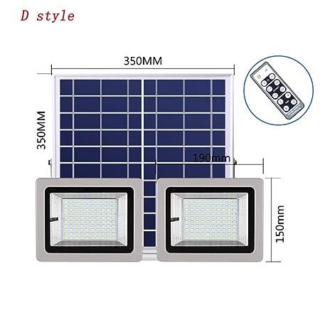 Xien Foco LED Proyector LED Foco Solar Luz De Inundación ...
