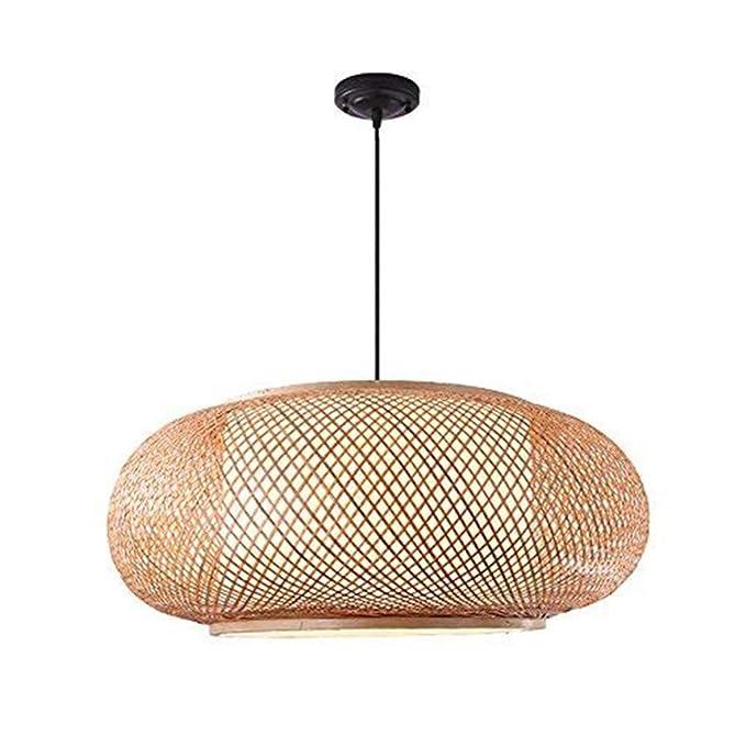 LXJ-YD Lámpara de bambú de Ropical, lámpara de Mimbre de ...