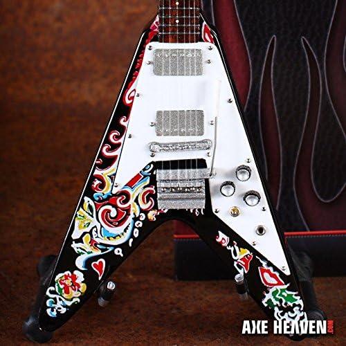 Hacha HEAVEN jh-028 Jimi Hendrix Flying V Guitarra Mini: Amazon.es ...