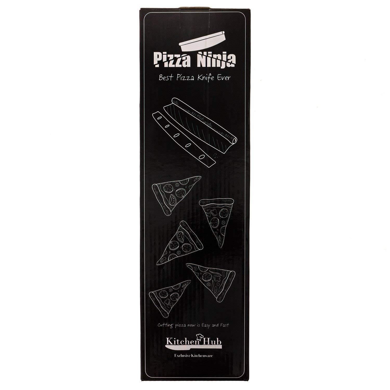 Pizza Ninja Rocker cuchillo de cocina Hub con 14 Inch ...