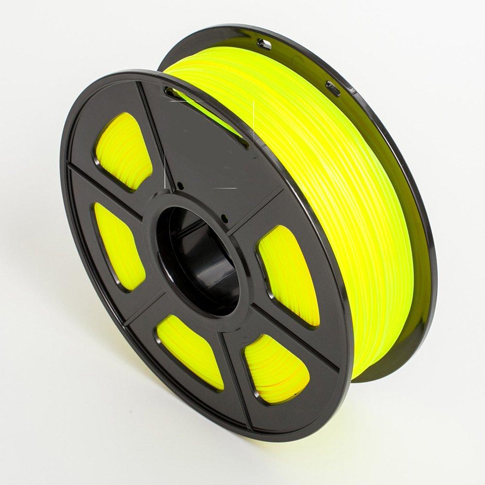 SUNLU Impresora 3D de filamentos PLA Amarillo 1,75 mm 1kg (2,2 lbs ...