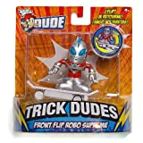 Front Flip Robo Supreme: Tech Deck Dude Trick Dudes Figure Series