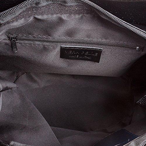 Color Italy Pelle Stampa Piel De Colore Vera In Realizzato Firenze Cm Pelle Mujer Cuero 32x31x18 Donna Artegiani Made bolso Italiana Tote Grabado Geometrica Genuino bolso Auténtica GeométrixlajCn2HOy Italia TxnwHFnq6
