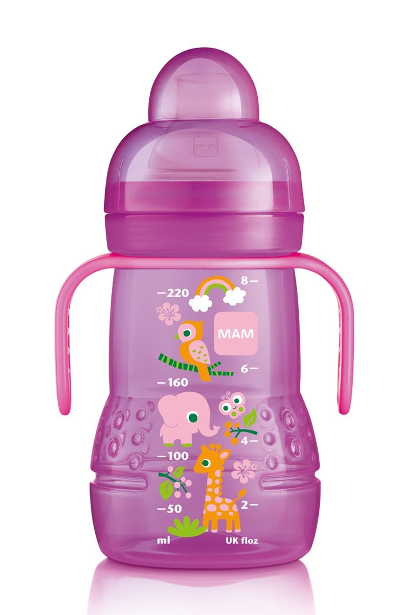 Mam Trainer With Handles Girl 8 Ounces 1-Count 6