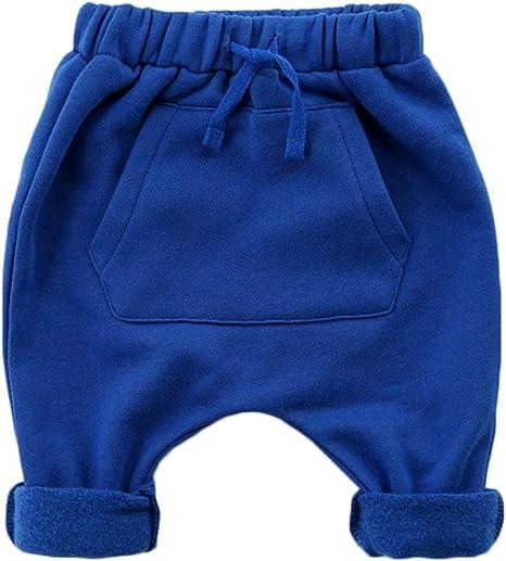 Vine Bebé Pantalones de Chándal Harem Joggers Algodón Pantalones ...