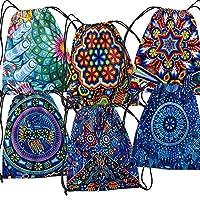 Morral de lazo con diseño de arte mexicano