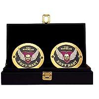 $59 » WWE Bret Hart Legends Championship Replica Side Plate Box Set Multi