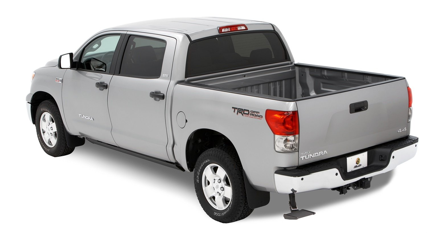 Bestop 75305-15 Rear-Mount Trekstep for 2007-2018 Toyota Tundra requires factory-installed hitch