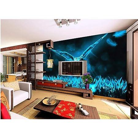 Rureng 3D Tapete Benutzerdefinierte Fototapeten Fantasy Wildnis Eule Tv Sofa Bettwäsche Ktv Hotel Wohnzimmerkinderzimmer -200