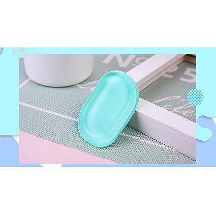 Jooffery 3 colores novedoso silicona antiesponja aplicador de ...