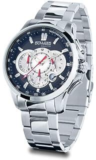Reloj Duward Hombre en Acero,Pantalla cronografo,Esfera Azul.10ATM. D95522.