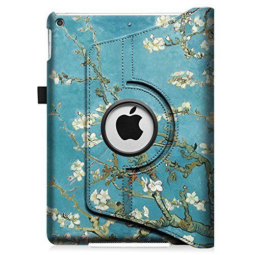 Fintie iPad mini 1/2/3 Case - 360 Degree Rotating Stand Case Cover with Auto Sleep / Wake Feature for Apple iPad mini 1 / iPad mini 2 / iPad mini 3, Blossom Photo #8