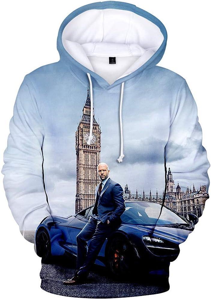 Unisex Fast /& Furious Sweatshirts Hoodie Casual Sweatshirt Wild Style Pullover