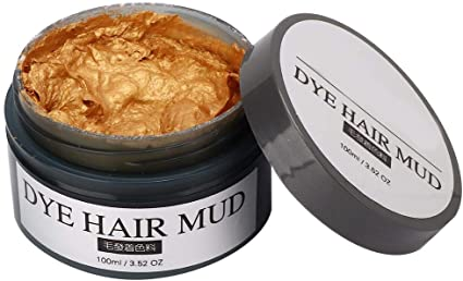 Styling Hair Mud Tinte profesional para el cabello Cera para ...
