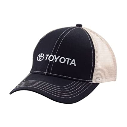 Amazon.com  Officially Licensed Toyota Mesh Trucker Hat Baseball Cap ... c65bbbcc006