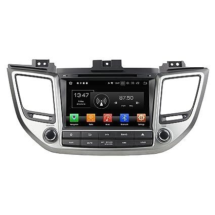 KUNFINE Android 8 0 Otca Core 4GB RAM Car DVD GPS Navigation Multimedia  Player Car Stereo For Hyundai TUCSON / IX35 2015 2016 2017 Steering Wheel