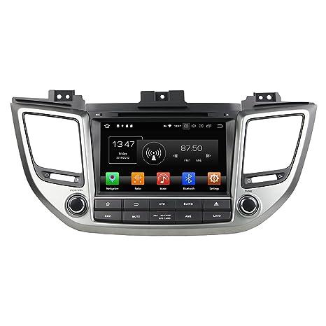 Android 8.0 Octa Core coche reproductor de DVD GPS navegación Multimedia estéreo de coche para Hyundai