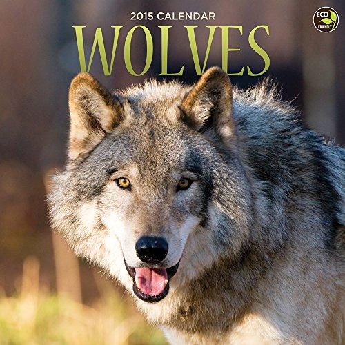 2015 Wolves Wall Calendar