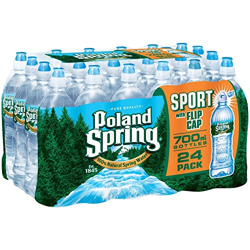 Poland Spring 100% Natural Spring Water (700 ml bottles, 24 pk.)