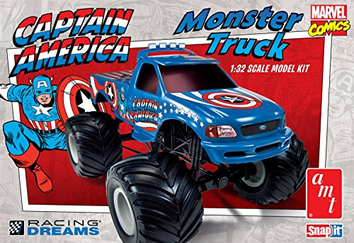 AMT Captain America Ford F-150 Monster Truck
