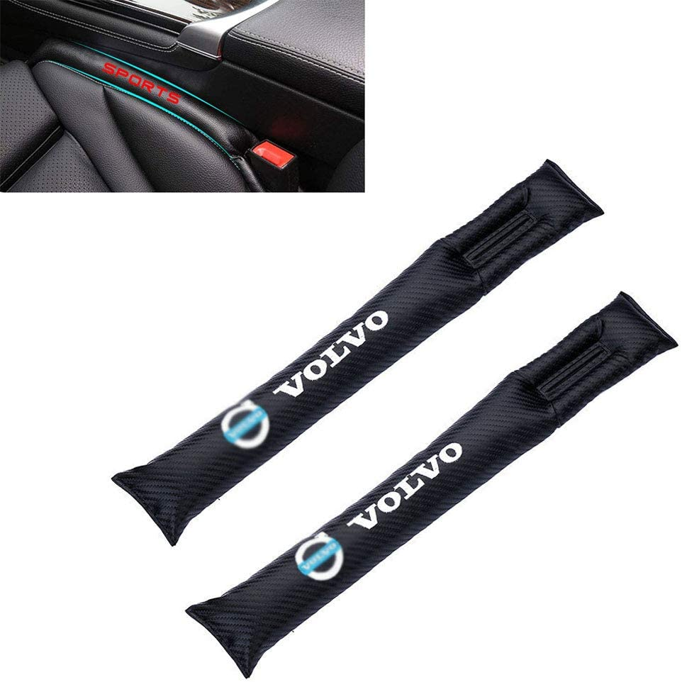 8X-SPEED For Insignia Car Seat Gap Filler Pad Prevent items from falling Gap Filler Pad Spacer Leakproof Protective Pad PU Leather Car Seat Slot Plug Pad 2Pcs Blue
