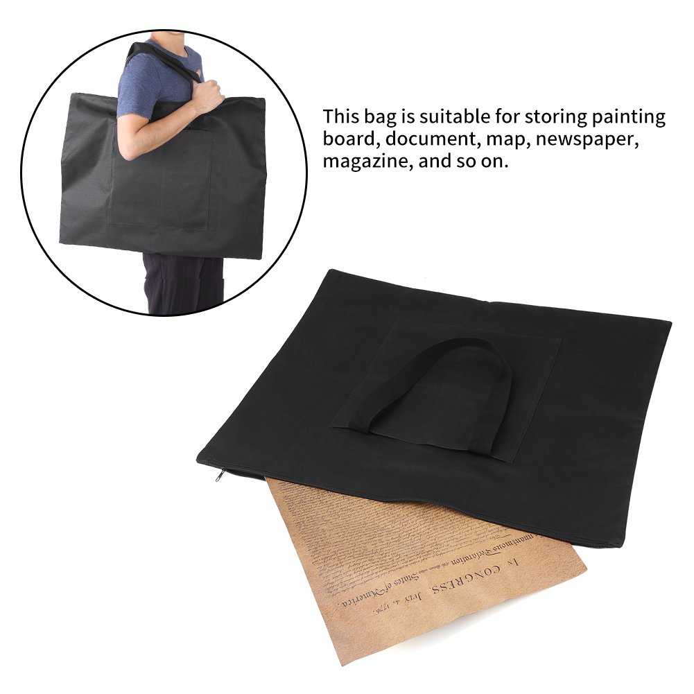 Drawing Painting Bag Travel Bag Storage Bag File Thickness Waterproof Sketchpad Portable Canvas Document Carry Case A2