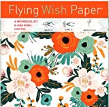 "Flying Wish Paper - Write it., Light it, & Watch it Fly - ORANGE BLOSSOMS - 5"" x 5"" - Mini Kits"