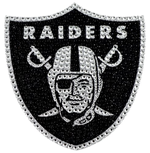 - Team ProMark NFL Oakland Raiders Bling Emblem, 6.25-inches