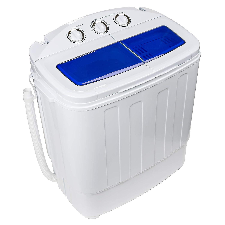 Dawoo Mini Lavadora Portátil De 4.4Kg Lavadora De Doble Cilindro ...
