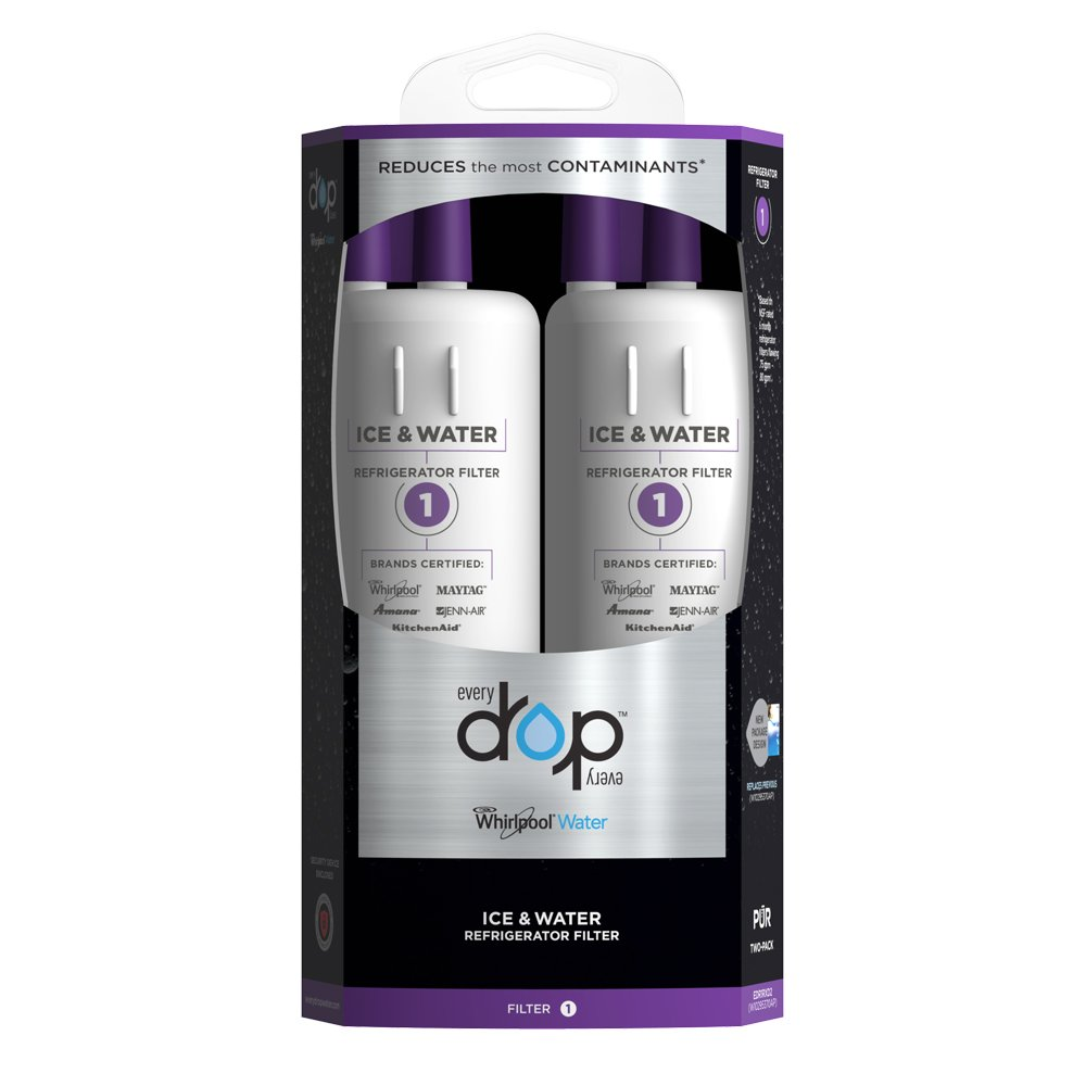 Whirlpool Refrigerator Water Filters Lowes Amazoncom Everydrop By Whirlpool Refrigerator Water Filter 1