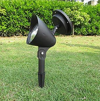 Home Garden - Lámpara solar para jardín (2 unidades, funciona con energía solar, 3 focos LED de luz nocturna): Amazon.es: Iluminación