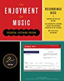 Recordings Disc: for The Enjoyment of Music, Essential Listening Edition, Second Edition