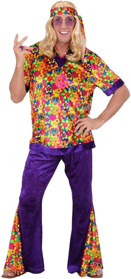 Disfraz hippie disfraz de hippie Hippieman Carnaval disfraz para ...