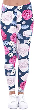 Zohra Collection Women's Aztec Polyester-Spandex Casual Leggings