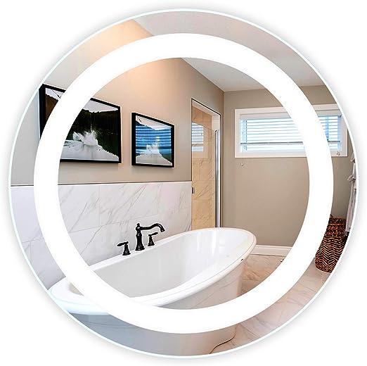 "26/"" LED Bathroom Wall Mirrors Illuminated Light Makeup Mirror w// Lamp Strip"