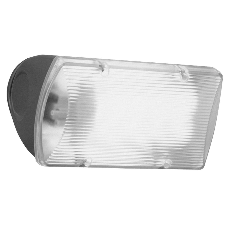 All Pro Outdoor Security Fnf26pc 26 Watt Fluorescent Floodlight With Integral Photo Control Bronze Flood Lighting Amazon Com