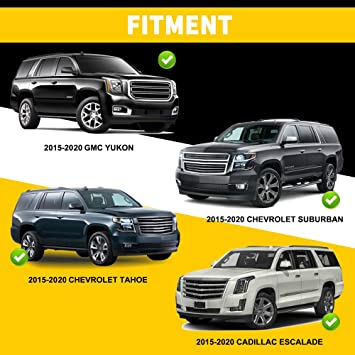 2015-2020 Chevy Suburban Cargo Sure-Fit Floor Mats