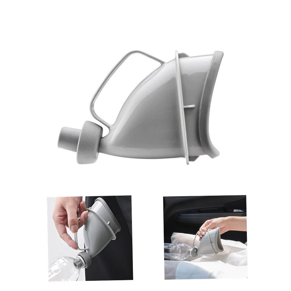 SUMMERDAISY Unisex Female Male Reusable Portable Urinal Device Travel Camping Pee Urinal Toliet Outdoor Emergency Sitting Standing Urination