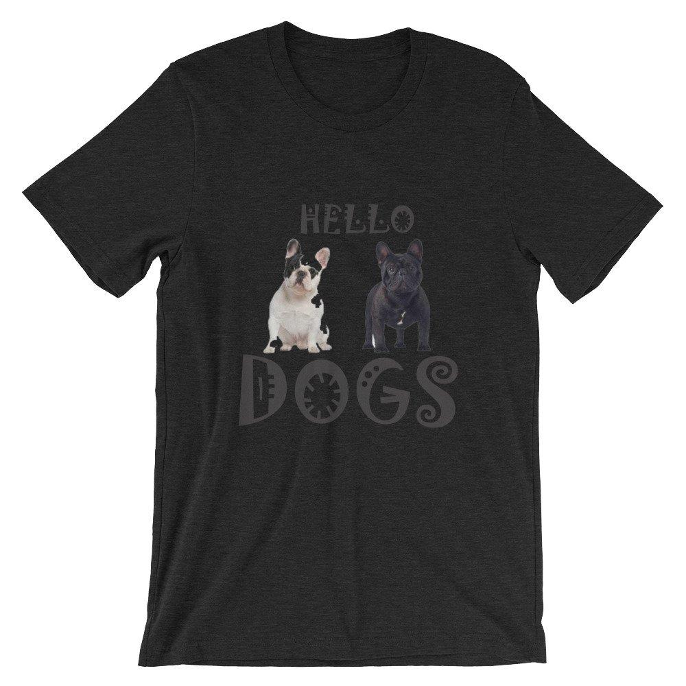 Shirts Short-Sleeve Unisex T-Shirt Yes Bulldog French
