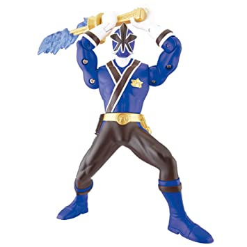 Power Ranger Azul Rangers Katana Samurai 31525 Bandai Ybyvg6f7