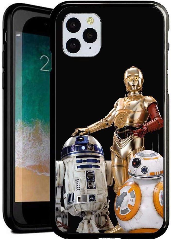 DM Compatible con iPhone 7/iPhone 8 Funda, Cubierta Trasera de Cristal Templado + Marco de TPU Carcasa híbrida a Prueba y arañazos Funda iPhone 7/iPhone 8 [ZYU500019]