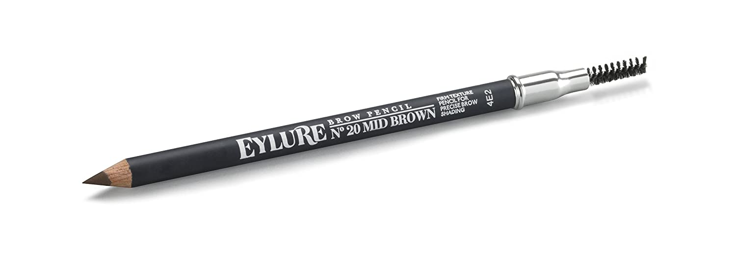 Eylure Firm Brow Pencil, Mid Brown Original Additions 6008106-HS-US