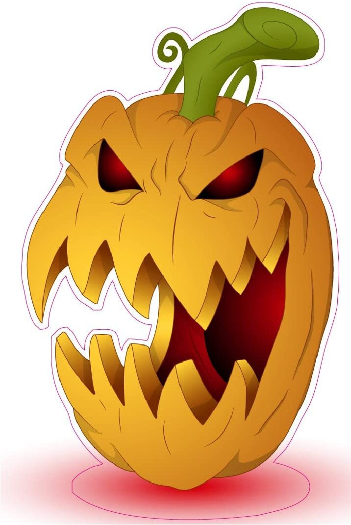 Glass Doors Halloweens Pumpkins Decals 11 Pieces Jack-O-Lantern Clings Decals For Windows DIY Required Mirrors Thanksgiving Decorations Party Ornaments Wall Refrigerator Doors