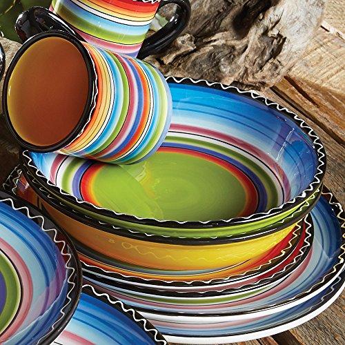 Tequila Sunrise Soup & Pasta Bowls (Set of 4)