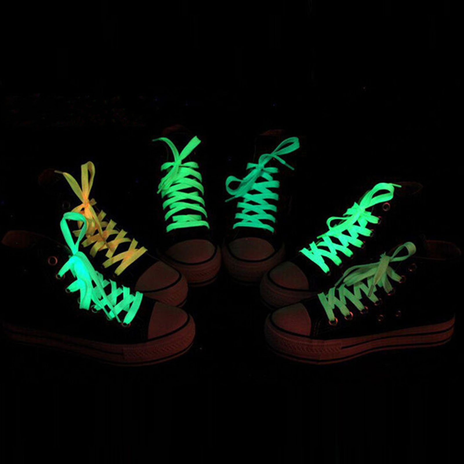 AlexGT Glow in The Dark Shoe Laces