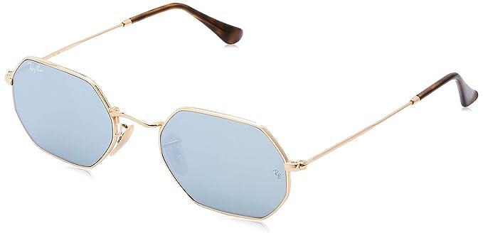 Ray-Ban 0RB3556N 001/30, Gafas de Sol Unisex-Adulto, Dorado (Gold), 53