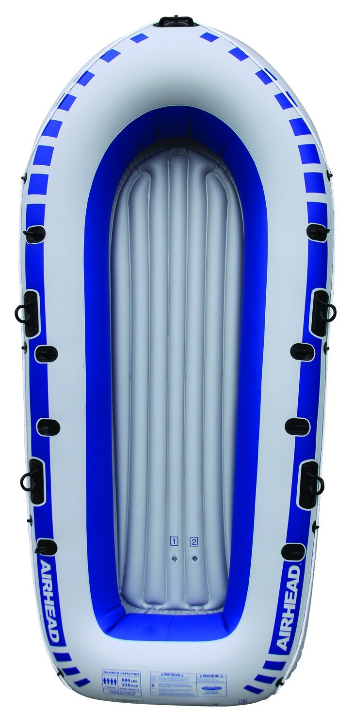 Airhead Inflatable Boat, 4 person