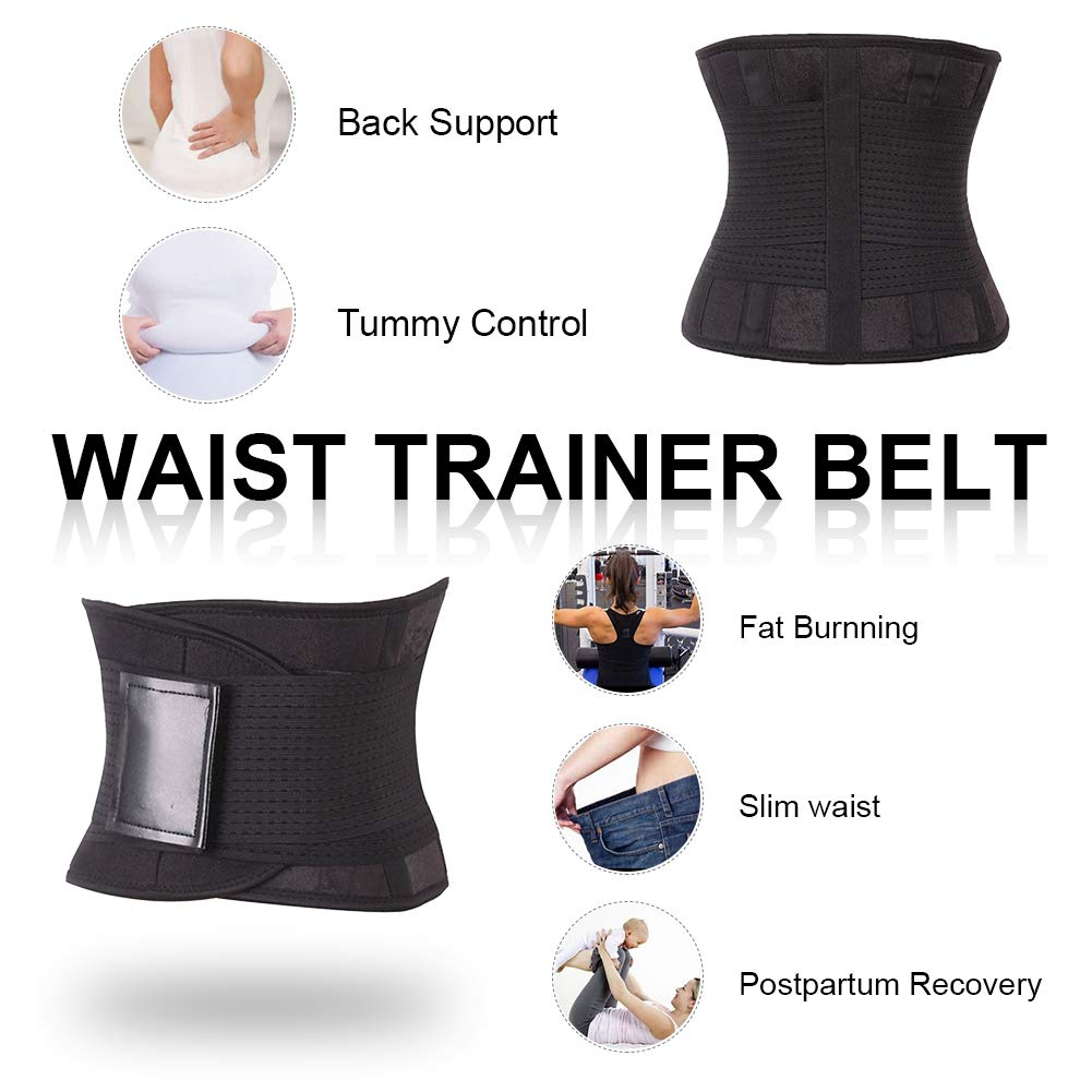 e330f436f9 Wonder-Beauty Women s Waist Trainer Belt Sport Girdle Shaperwear Waist  Cincher at Amazon Women s Clothing store