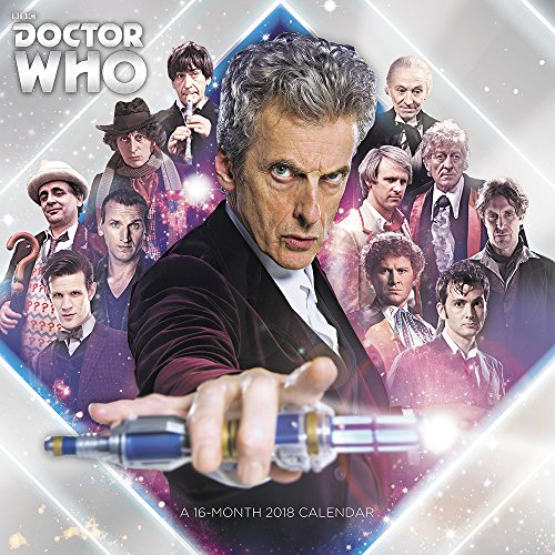 2018 Doctor Who Wall Calendar (Day Dream)